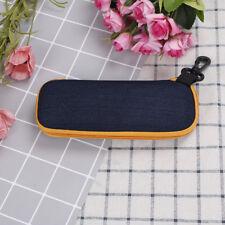 Portable rectangle grid zipper glasses case hard eyewear box for sunglas N Sh
