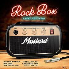 Mostaza Black Rock Caja Caja De Almuerzo Bento Con Compartimentos contenedores de alimentos