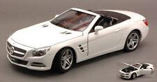 Mercedes SL500 Spider 2012 White 1:24 Model 0298 WELLY