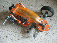 Meccano spare repair parts 'multi-models' orange car buggy construction kit