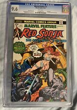 Marvel Feature #1 1st Red Sonja IN A SOLO BOOK CGC 9.6 NM/NM+;Conan 1975