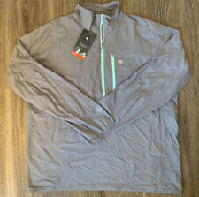 NWT Mountain Hardwear Kor Preshell Pullover Windbreaker Jacket Grey Mens Sz XXL