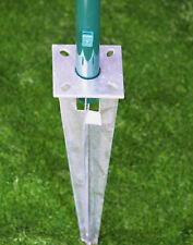 Einschlaghülsen Kopfplatte für Pfosten 34 Ømm Bodenhülse Maschendraht Zaun Zäune