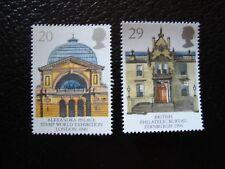 ROYAUME-UNI - timbre yvert/tellier n° 1455 1456 n** MNH (COL3)