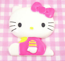 GIANT Cute Pink Kitty Flatback Cabochon Embellishment Decoden Crafts - UK Seller