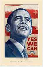 "Yes We Can Barack Obama Offset Print by Antar Dayal  25"" X 39.5"" Ed 5000"