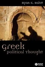 Ancient Cultures: Greek Political Thought 6 by Ryan K. Balot (2006,...