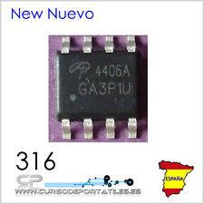 2 Unidades AO4406A SOP-8 AO4406 4406A