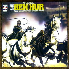 "Music from the Film ""Ben-Hur""  LP ~ (1977) London SPC 21166 ~ Miklos Rozsa"