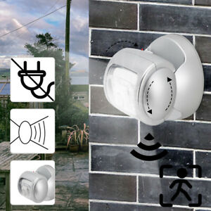 LED Light Motion Sensor Battery Operated Indoor Outdoor Garden Wall Patio Shed