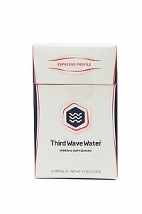 Third Wave Water Mineral Enhanced Optimizing Coffee Brewing Espresso Profile