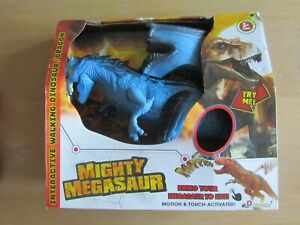 DRAGON-I MIGHTY MEGASAUR LIGHT/SOUND NEW IN BOX