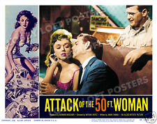 ATTACK OF THE 50 FT FOOT WOMAN LOBBY SCENE CARD # 9-YV2 POSTER YVETTE VICKERS