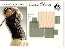 CHRIS D'MARCO GOLF SHIRT 2002 SP AUTHENTIC COURSE CLASSICS CC-CD PGA