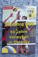 Festschrift 20 Jahre Volleyball VSV Oelsnitz Vogtland Sachsen neuwertig