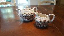 vintage  small floral pitcher and bowl set
