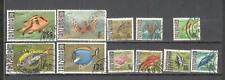 S8817 - TANZANIA 1967 - LOTTO 11 DIFFERENTI DALLA SERIE - VEDI FOTO