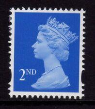 GB 1998 Machin Definitive 2nd bright blue SG 1665 (1 band on right) MNH