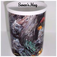 BN Boxed Personalised Hedgehog Fine Bone China Mug, Named Mug, Hedgehog Gift