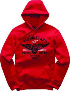 Alpinestars Wings Fleece Hoodie Red Extra Large XL