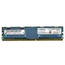 Micron Crucial 4GB 2Rx4 DDR2 PC2-5300F 667MHz Server Memory MT36HTF51272FY