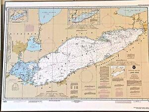 Lake Erie Nautical Chart