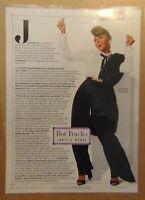 JANELLE MONAE Singer Rapper Actress Original Print Article Photo Clipping