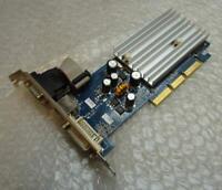 256MB PNY G606200A8E24L/oTC Geforce 6200 AGP VGA DVI Graphics Card