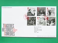 2011 Royal Shakespeare Company Royal Mail First Day Cover Tallents HouseSNo44775