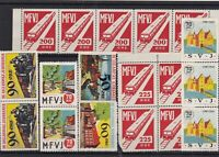 Revenue Fiscal and poster Stamps Ref 14091