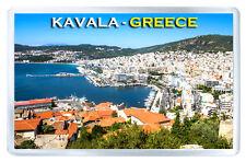 KAVALA GREECE FRIDGE MAGNET SOUVENIR IMAN NEVERA