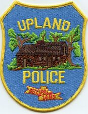 UPLAND PENNSYLVANIA PA POLICE PATCH