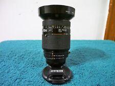 Nikon Zoom-NIKKOR AF MACRO 35-70mm f/2.8 AF Lens w/Genuine Nikon Hood (READ)