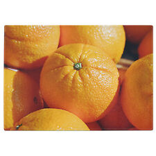 Oranges Tempered Glass Chopping Board
