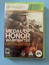 Medal of Honor Warfighter Limited Edition Xbox 360 2012 BRAND NEW and SEALED!!!