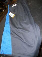 Spalding Blue & Black Loose Basketball Athletic Shorts MENS XXL NWT