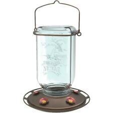 More Birds 25 Oz. Glass Mason Jar Hummingbird Feeder 68 - 1 Each