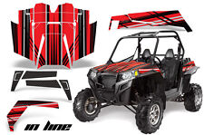 AMR Racing Polaris RZR 900XP Sticker Graphic Kit Decal UTV Parts 11-14 INLINE R