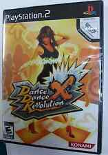 Dance Dance Revolution X Games 1Pcs only for Sony PlayStation 2  Brand New Seals