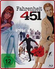 FAHRENHEIT 451 (Oskar Werner, Julie Christie) Blu-ray Disc, Steelbook NEU+OVP