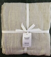 """William Sonoma Italian Washed Linen Tablecloth, 70 X 108"""" New w/$149.95 Tag"""