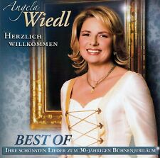 Angela Wiedl : Bienvenue - Best Of / 2 Lot de CD - Haut-Condition