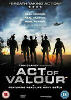 ACT OF VALOUR WITH REAL LIFE NAVY SEALS MOMENTUM UK DVD NEW AND SEALED