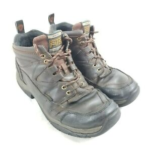 Ariat ATS Terrain Brown Leather Mens 10EE Wide Hiking Work Boots 10002183