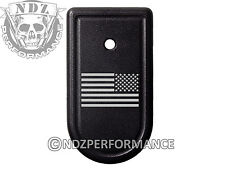 for Springfield Xd-S Mag Floor Plate 9Mm 40 45 Black Us Battle Flag