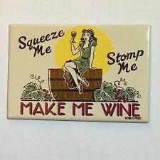 Fridge / Tool Box Retro Make Me Wine