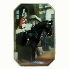 Vintage Fillerys Toffee Tin Featuring a Royal Cavalry Life Guard English British