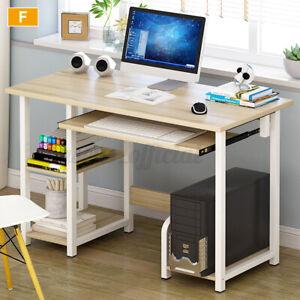 Douxlife Office Computer Desk Shelf Laptop Table Home Student Study Workstation
