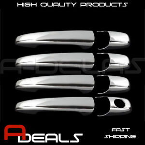 FOR  2007 08 09 10 11 12 MAZDA 2, 3, 6, CX-7, CX-9 CHROME 4 DOOR HANDLE COVER