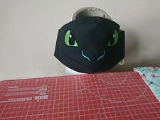 Handmade Kids Embroidered dragon eyes Face Mask
